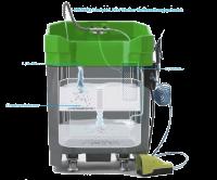 Drei-Stufen-Aufbereitungsprozess Lackierpistolenreiniger PROLAQ