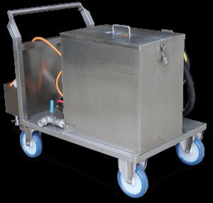 Reinigungsanlage Rohre, Wärmetauscher Temperiergeräte - Reinigung Industrie Gewerbe
