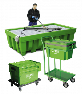 clean box mobile teilereiniger