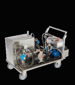 Rohrreinigungsanlage - hochspezialisierte Anlagen- Reinigung Kühlkanäle