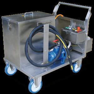 Reinigungsanlage Rohre, Wärmetauscher Temperiergeräte - Reinigung Industrie