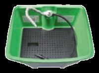 Schutzboden Kunststoff schwarz bio-Circle