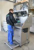Reinigungsmaschine Teilereiniger - Reinigung mit Hochdruck Gewerbe Industrie