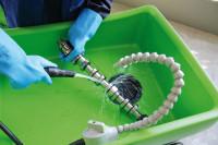 Pinselwaschtisch - umweltfreundliche ökologische Reinigung Werkstücke