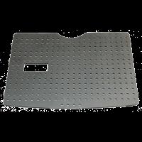 Schutzboden aus Kunststoff, schwarz