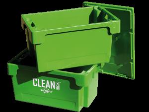 Reinigungsbehälter Reinigungsbox mit Deckel