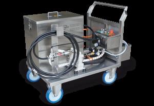 Rohrreinigungsanlage - Reinigung Kühlkanäle - Kunststoffspritzguss Gewerbe Industrie