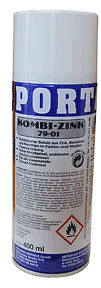 Porta Kombi Zink Spray