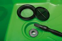 Pinselwaschtisch - umweltfreundliche ökologische Reinigung von Werkstücken