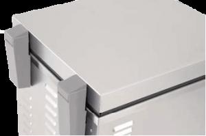 Lärmschutzdeckel mit Scharnieren - Klappdeckel