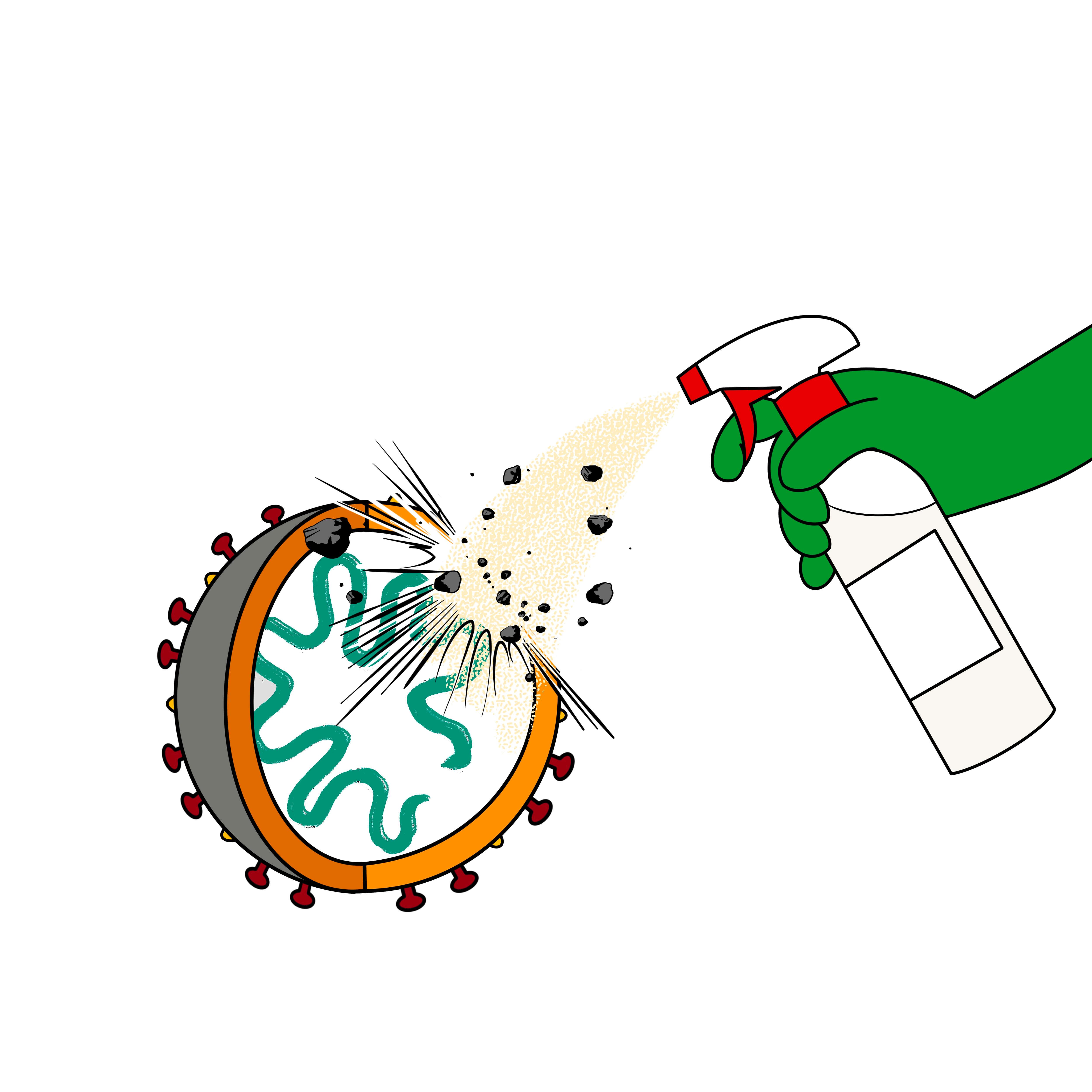 VIRAL CLEANER - Dégraissage contre les virus
